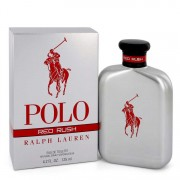 Ralph Lauren Polo Red Rush Eau De Toilette Spray 4.2 oz / 124.21 mL Men's Fragrances 545154