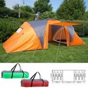 Campingzelt Loksa, 6-Mann Zelt Kuppelzelt Igluzelt Festival-Zelt, 6 Personen ~ Variantenangebot