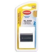 Hahnel HL-XH50 Ioni di Litio 750mAh 6.8V batteria ricaricabile