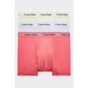 Calvin Klein Boxerky Premium 3 balení - zelená, modrá, oranžová Velikost: M
