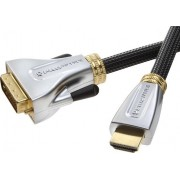 Vivanco ProWire AV cable, HDMI - DVI-D connector 1.5m