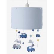 VERTBAUDET Abajur nuvens e carros, para pendurar azul liso com decoração