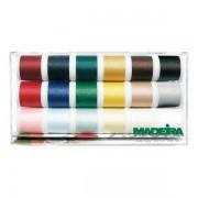 Set 18 culori ata de cusut Aerofil 120 / 200m / 8041