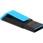 USB Flash Drive 16Gb - A-Data UV140 USB 3.0 Black-Blue AUV140-16G-RBE