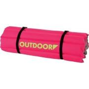 Colchoneta Outdoor Rosa/Verde 105 Cm