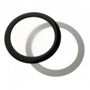 Filtru de praf DEMCiflex Dust Filter Round 92mm - Black/White