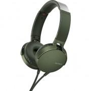 Casti audio Sony MDRXB550APG, EXTRA BASS, Difuzor neodim 30mm, Verde