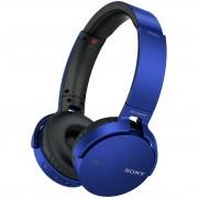 Sony MDR-XB650BTL blauwe Bluetooth hoofdtelefoon