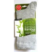 Bambusz zokni, szürke 40-42