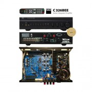 Amplificateur NAD C326BEE graphite Noir