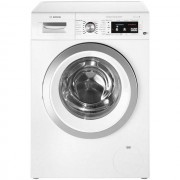 "Bosch Serie 8 i-Dosâ""¢ WAWH8660GB Wifi Connected 9Kg Washing Machine with 1400 rpm - White - A+++ Rated"