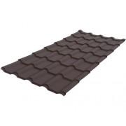 Tigla metalica Wetterbest 2575x1200x0,5 mm maro mat