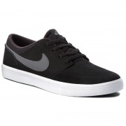 Обувки NIKE - Sb Portmore II Solar 880266 001 Black/Dark Grey/White