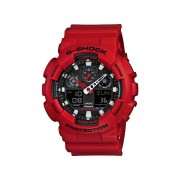 Casio G-Shock Standard Anaolg Digital Montre GA-100B- 4A Rouge