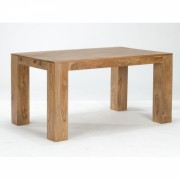 indickynabytok.sk - Jedálenský stôl Tara 175x90 indický masív palisander, Svetlomedová