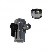 """Robinet adaptor cu montare pe baterie (1/2""""-1/4"""")"""