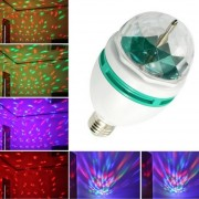 2PCS Foco Led Giratorio RGB LED Luz Para Fiesta/Disco De Colores