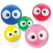 Baker Ross Dotty Eye Jet Balls (Pack of 12)