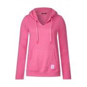 cecil Sweattrui in hoodiestijl - bubblegum pink melange