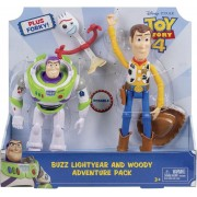 Toy Story 4 - Adventure Pack - Mattel - with Woody , Buzz and Forky