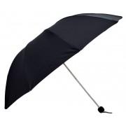 Umbrela Pliabila ICONIC Neagra, Ø110cm, articulatii duble anti-vant