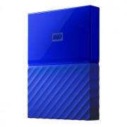 WD My Passport 4TB - USB 3.0 - Blå