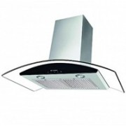 Faber FEEL PLUS SS TC LTW 90 HOOD Wall Mounted Chimney(Silver 1000)