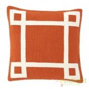 Perna decorativa din bumbac Hartley Orange dim.50X50cm 108253 HZ