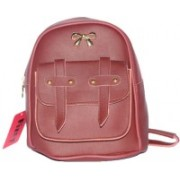 Fizzy Casual Attractive Stylish College Backpacks/Sling Bag/Side Bag 8 L Backpack(Maroon)