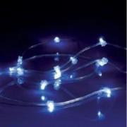 > LEDRoll FLASH - striscia trasparente 240 led bianco caldo + 60 flash