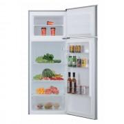 Frigider cu 2 usi Candy CMDDS 5142S, Static, 204 L, Control mecanic, Iluminare interioara LED, Sertar fructe/legume, H 143 cm, Clasa A+, Argintiu