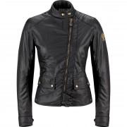 Belstaff Motorradschutzjacke, Motorradjacke Belstaff Bradshaw Damen Textiljacke schwarz 42 schwarz