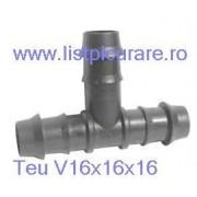 Teu egal V 16 pentru tub moale(LDPE)