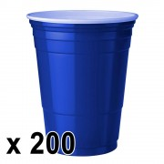 StudyShop 200 st. Blue Cups Blå Muggar (16 Oz.)