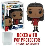 Funko POP TV: Star Trek Beyond - Uhura Duty Uniform Vinyl Figure (Bundled with Pop BOX PROTECTOR CASE)