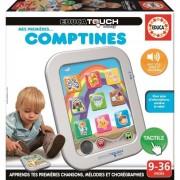Educa Borras Jeu Educatif - Touch Baby Mes Premières Comptines
