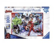 Пъзел Ravensburger 100 части - Авенджърс, 7010808