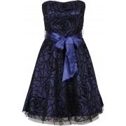 BODYFLIRT Klänningar: Dam Cocktailklänning i blå utan ärm - BODYFLIRT
