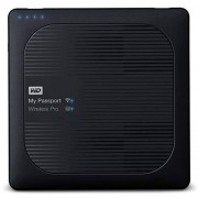 Western Digital wdbp2p0020bbk-eesn My Passport Wireless Pro Draadloze draagbare externe harde schijf (6,4 cm (2,5 inch), SD 3.0-kaartlezer, USB power bank, Wifi, 8 MB, SATA, USB 3.0) 1 TB
