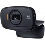 Logitech B525 HD-webcam 1280 x 720 pix Standvoet, Klemhouder