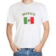 Shoppartners T-shirts met Mexicaanse vlag print