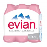 Evian 1 L x 6 pack - PET