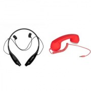HBS 730 bluetooth headset and Coco Retro Phone Headset K94 Neckband bluetooth headset   Stereo Music Earphone Bluetooth Headset with Mic