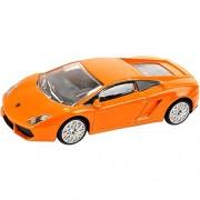 Rastar 1:40 Diecast Lamborghini Gallardo Car Model with Detailed Exterior, Orange, TOYSHINE - 60