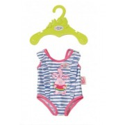 Baby Born Zapf Creation Swim Costume Outfit for 43Cm Dolls - Blue