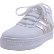 Adorn Active and Cool Sneakers For Women(White)