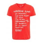 NAME IT Tryckt T-shirt Man Röd
