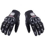 Andride Madbike Full Racing Motorcycle Gloves (Black) (Medium)