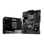MSI X570-A PRO AMD AM4 DDR4 m.2 USB 3.2 Gen 2 HDMI ATX moederbord.