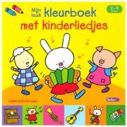 Lobbes Lange oortjes - Mijn leuk kleurboek met kinderliedjes